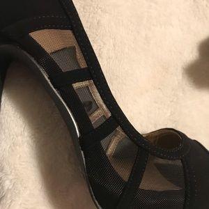 Badgley Mischka Shoes - Badgley Mischka Peep Toe Heels